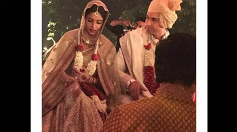 Rahul Sharma And  Asin Wedding Photos