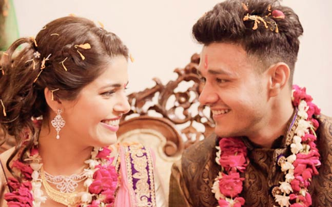 Aniruddh Dave And Shubhi Ahuja Marriage Photos