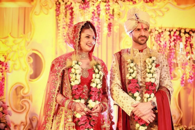 Divyanka Tripathi And Vivek Dahiya Wedding Pics