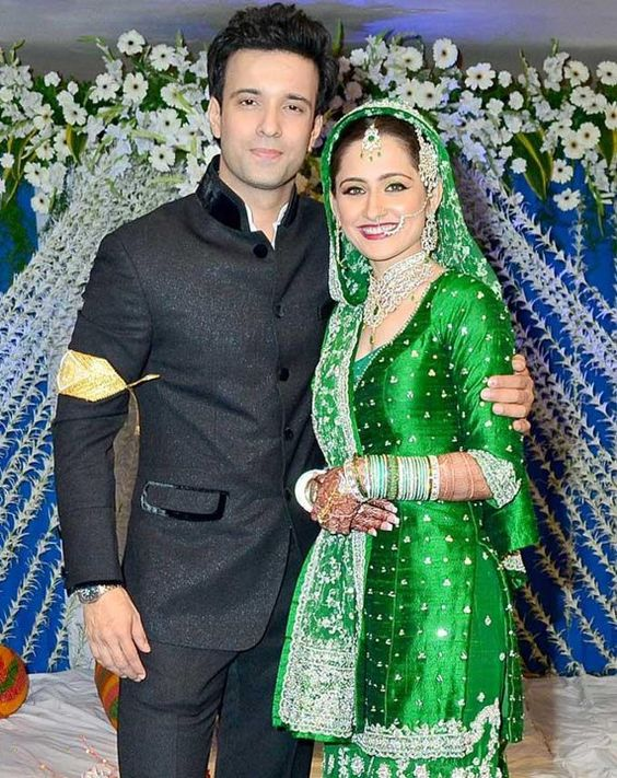 Sanjeeda Sheikh And Aamir Ali Wedding Pics
