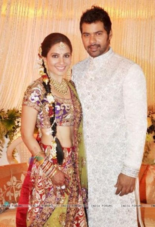 Shabbir Ahluwalia And Kanchi Kaul Wedding Pics