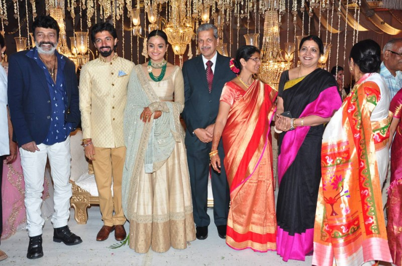 Ashwini Dutt�s Daughter Priyanka And Director Nag Ashwin Wedding Photos