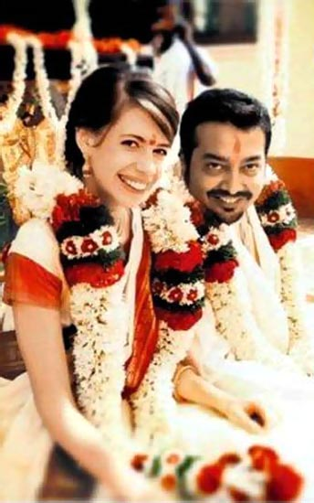 Bollywood Actress Kalki Koechlin And Anurag Kashyap Wedding Photos