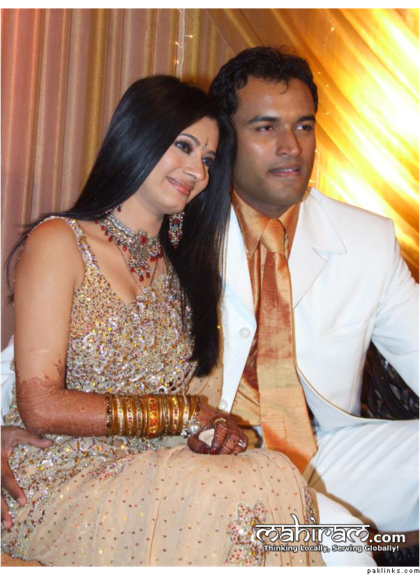Tasneem Sheikh And Sameer Nerurkar Marriage Pics