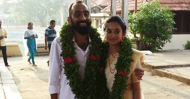 Malyalam Actress Gauthami Nair And Director Srinath Rajendran Wedding Pics