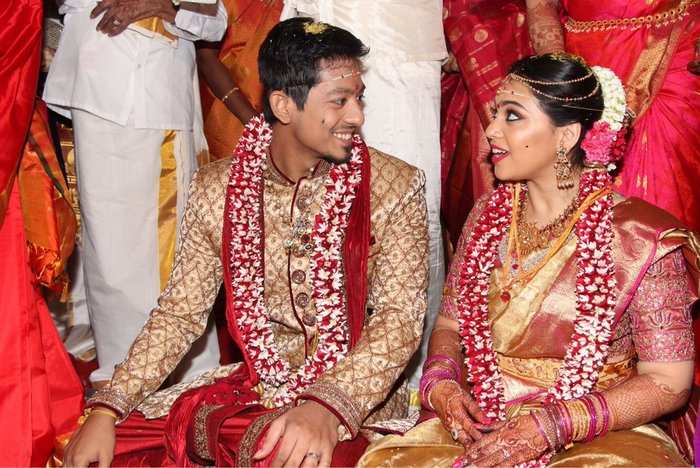 Actor Vishal Krishnas Sister Aishwarya Gets Married