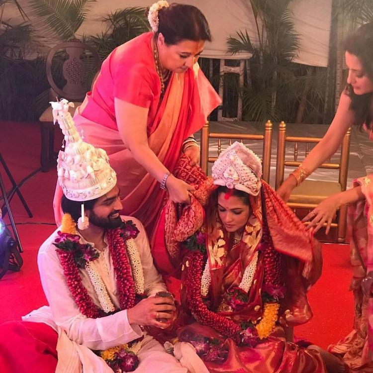 Riya Sen Gets Married To Beau Shivam Tewari