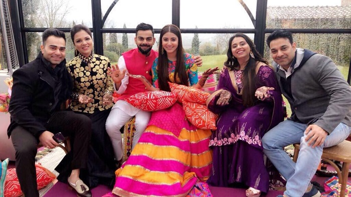 Virat And Anushka Wedding Pics