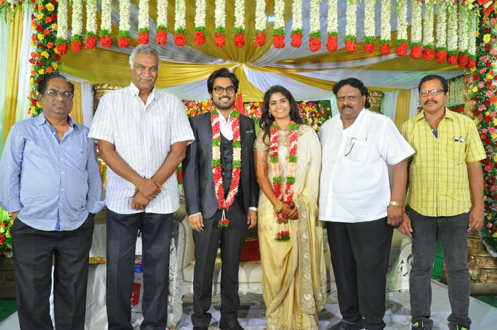 Director Guda Ramakrishna Daughter Sravani Marriage Photos