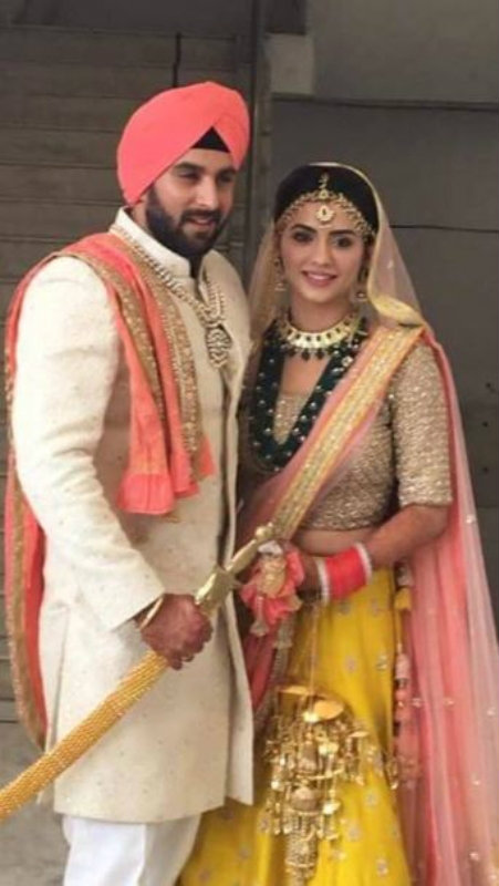 TV Actress Priya Bathija Ties The Knot With DJ Kawaljeet Singh In A Punjabi Gurudwara Wedding