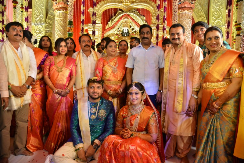 Bandla Ganesh Brother Daughter Ashritha Marriage Photos