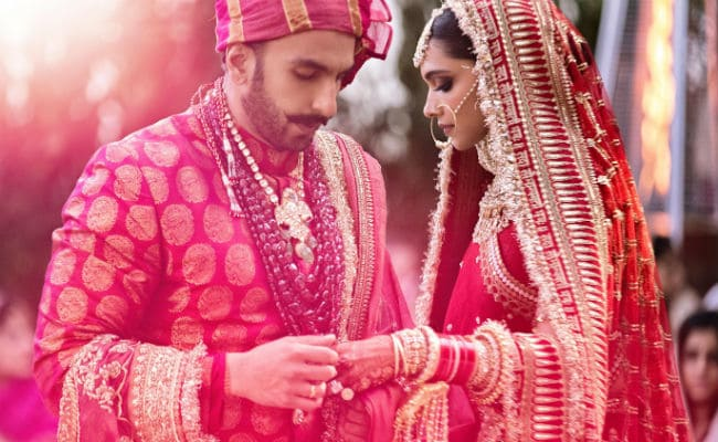 Pictures From Ranveer Singh & Deepika Padukone Big Fat Wedding