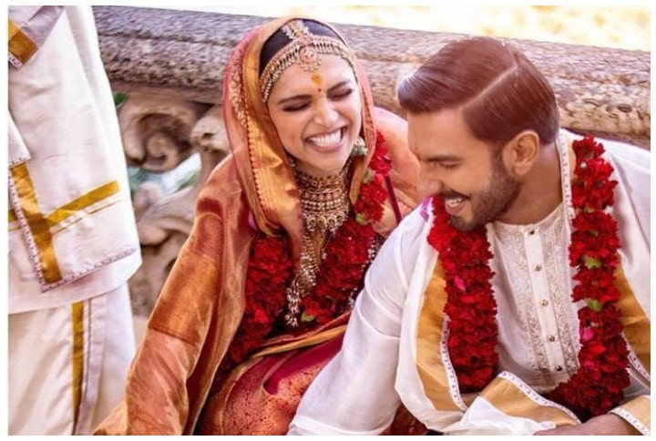 Ranveer Singh & Deepika Padukone Big Fat Wedding Photos