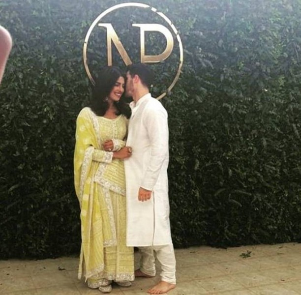 Priyanka Chopra And Nick Jonas' Engagement Pics