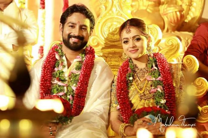 Bhavana And Naveen Got Married