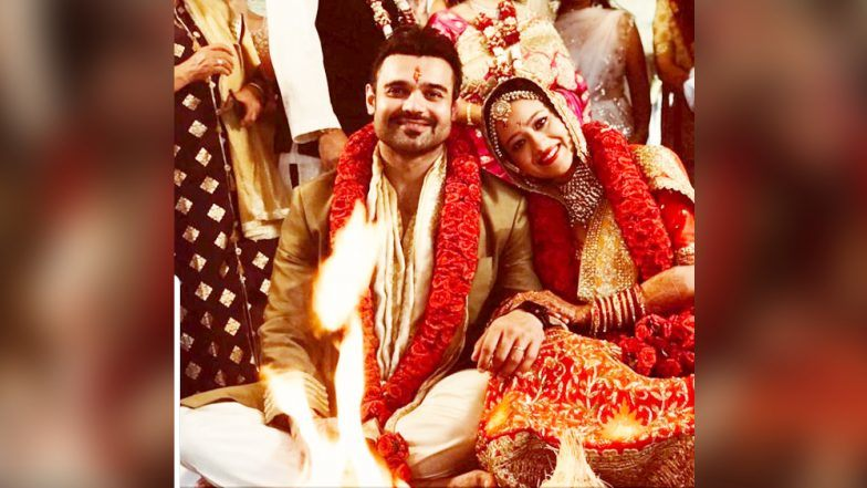 Mahaakshay Chakraborty Marries Madalsa Sharma