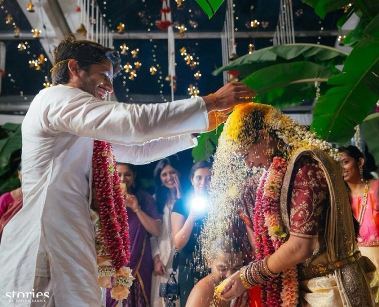 Naga Chaitanya & Samantha Ruth Prabhu Wedding Stills