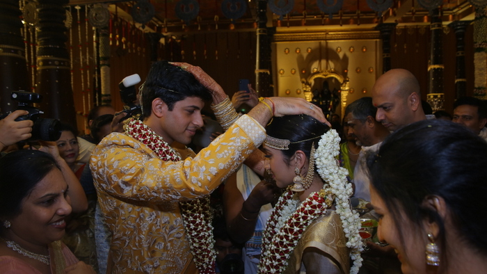 TSR Grandson Anirudh Wedding Photos | Photogallery
