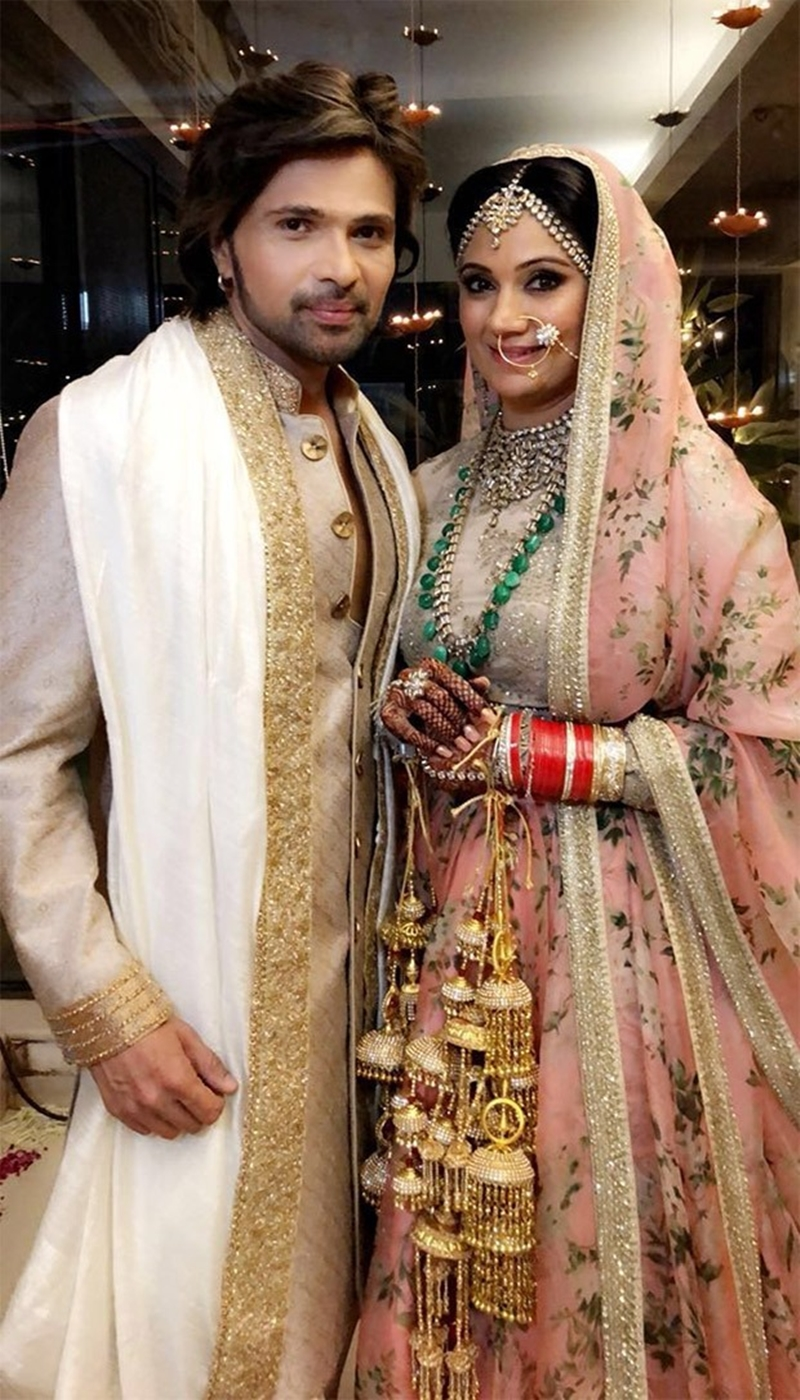 Himesh Reshammiya And Sonia Kapoor Wedding Pics