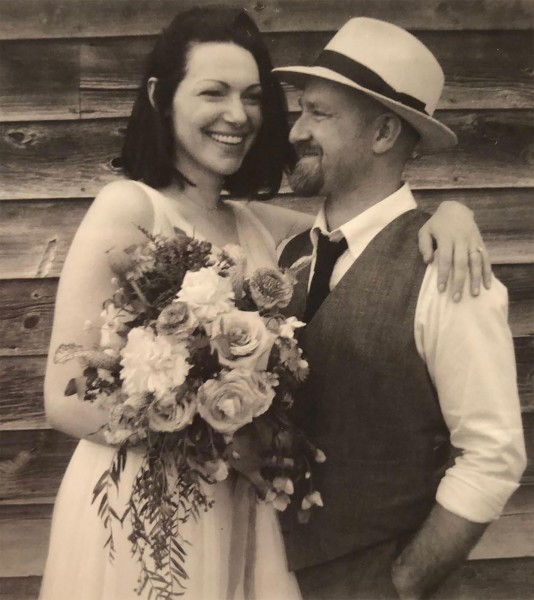 Laura Prepon And Ben Foster Wedding Pics