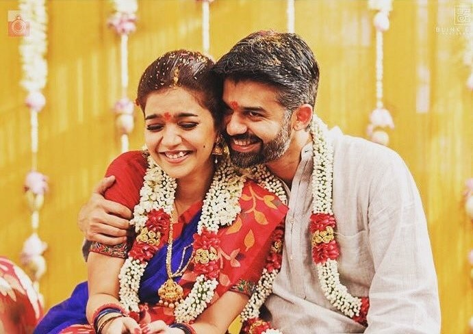 Colors Swathi Wedding Pics With Vikas Vasu