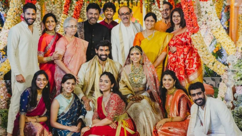 Rana Daggubati Miheeka Bajaj Get Married