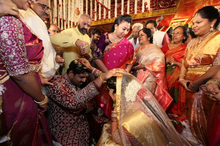 Celebs At Kodi Ramakrishna Daughter Marriage