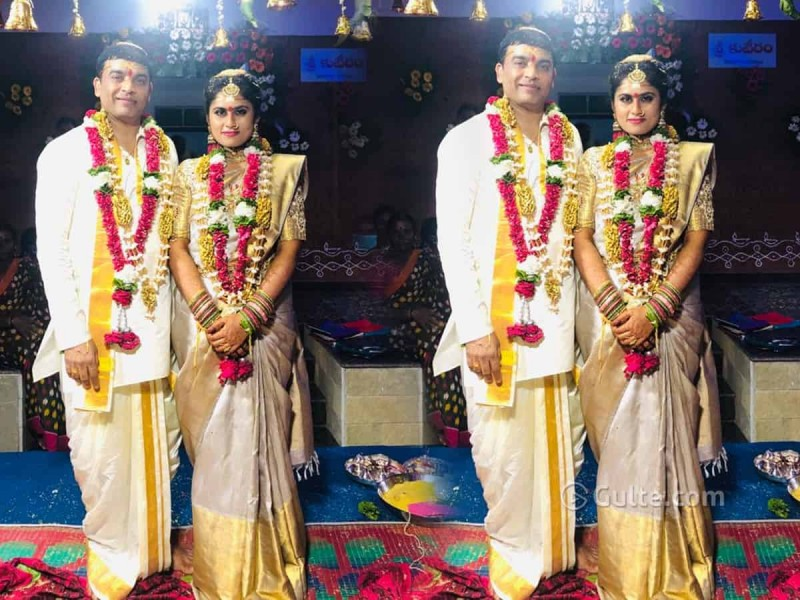 Telugu Producer Dil Raju Gets Married