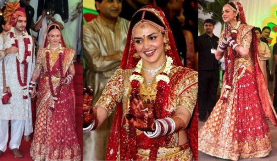 20 Bollywood Divas And Their Wedding Day Look