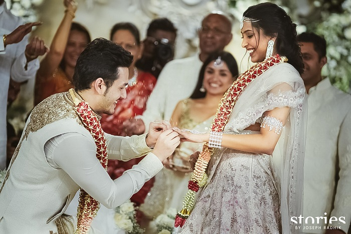 Akhil Akkineni And Shriya Bhupal Got Engaged