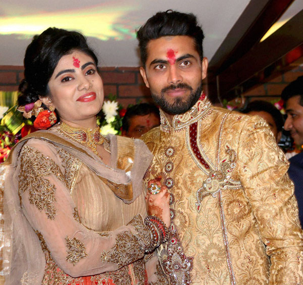 Indian Cricketer Ravindra Jadeja Gets Engaged To Reeva Solanki