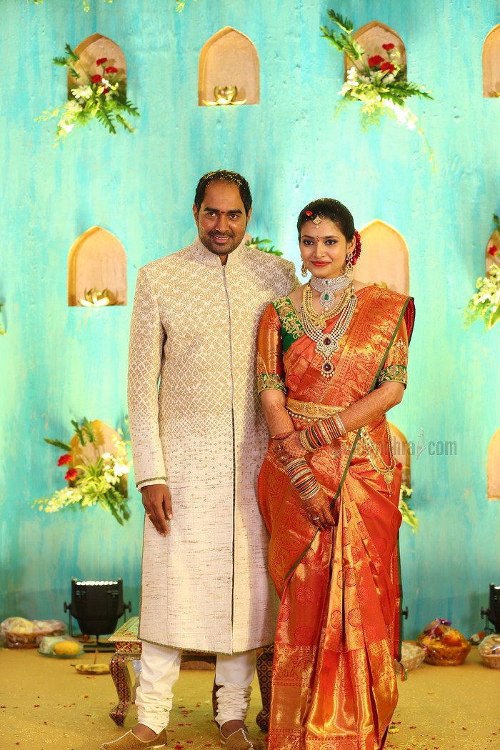 Director Krish And Ramya Engagement Pics