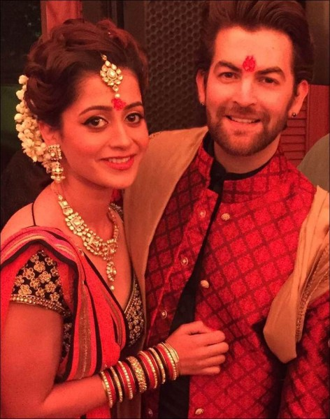 Neil Nitin Mukesh And Rukmini Sahay Engagement Pics