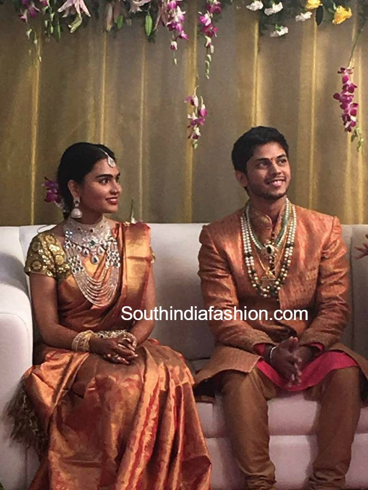 Politician Gali Janardhan Reddy Daughter Engagement Photos