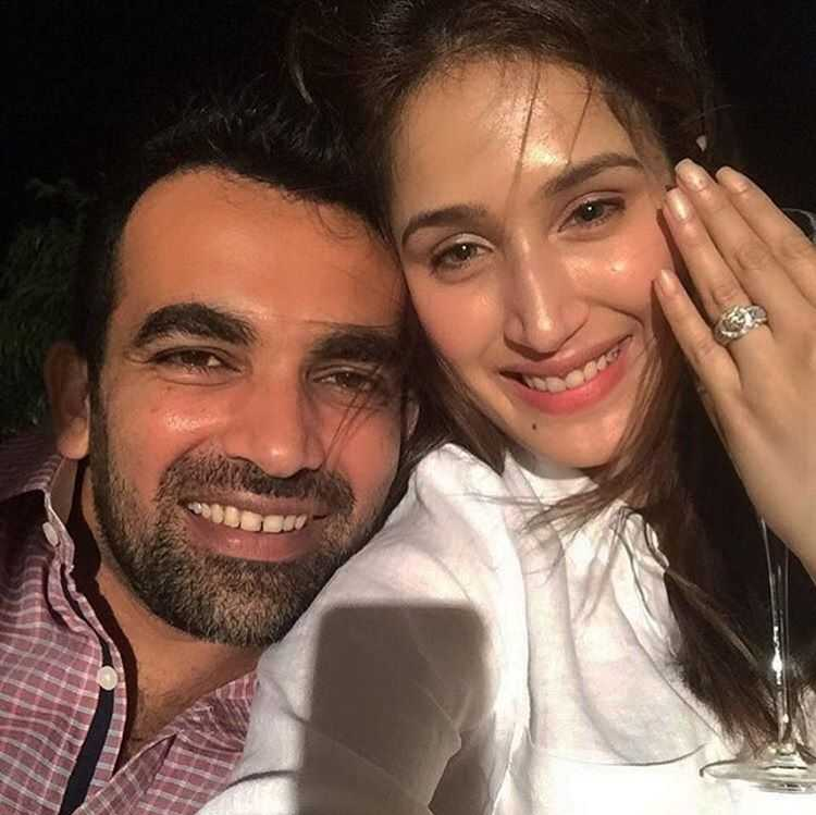 Chak De India Actress Sagarika Ghatge And Cricketer Zaheer Khan Got Engaged