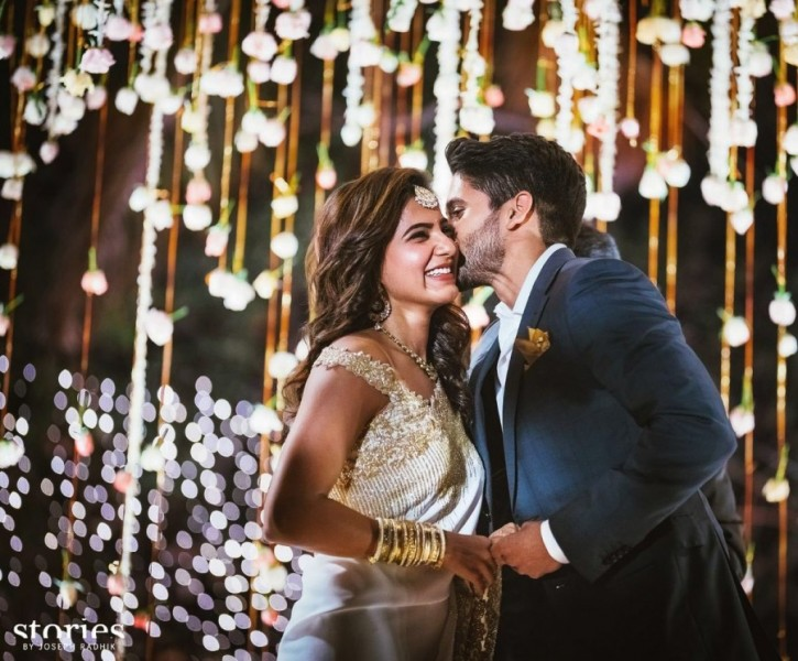 Naga Chaitanya And Samantha Engagement Photos