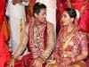 Actor Vishal Krishna&#39s Sister Aishwarya Marriage Pics