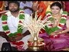 Actress Saranya Mohan And Aravind Krishnan Marriage Photos