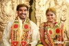 Actor Santosh Pavan And Anjali Marriage Photos