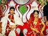 Indian Cricketer Ashok Dinda And Sreyasi Rudra Wedding Photos