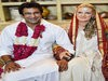 Wasim Akram And Shaniera Thompson 2nd Wedding Photos