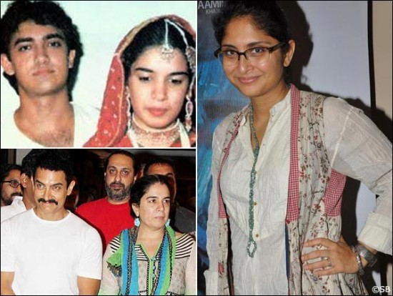Reena Dutta And Aamir Khan Divorce Pics