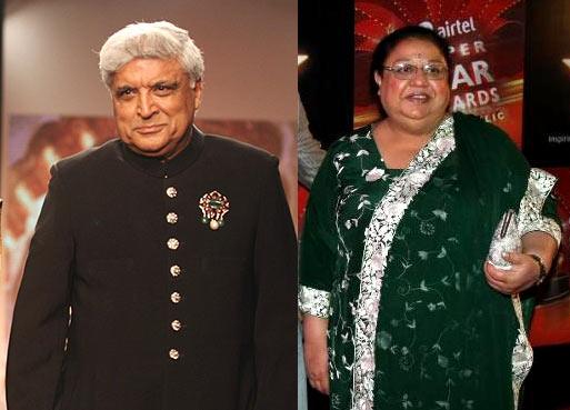 Javed Akhtar And Honey Irani Divorce Photos