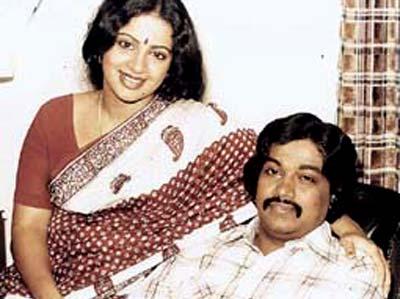 Srividya And George Thomas Got Splitted