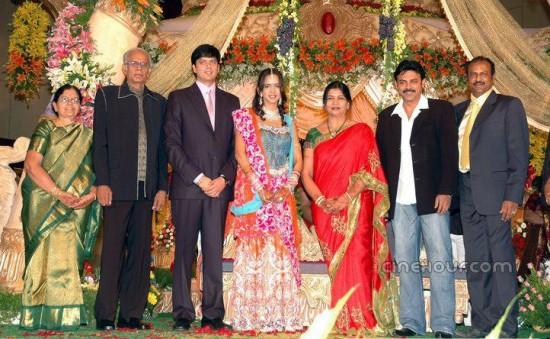Andy Srinivasan And Lakshmi Prasanna Wedding Photos