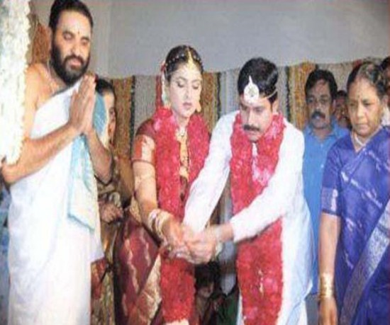 R K Selvamani And Roja Wedding Photos