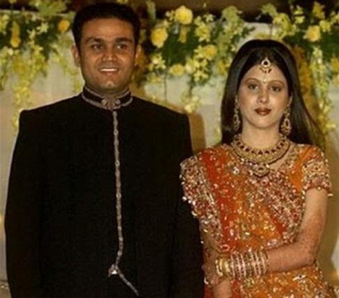 Aarti Ahlawat Virender Sehwag Wedding Photos