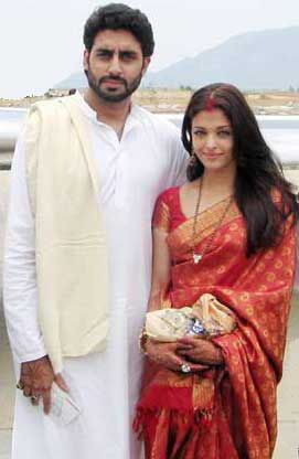 Abhishek Bachchan And Aishwarya Rai Marriage Photos