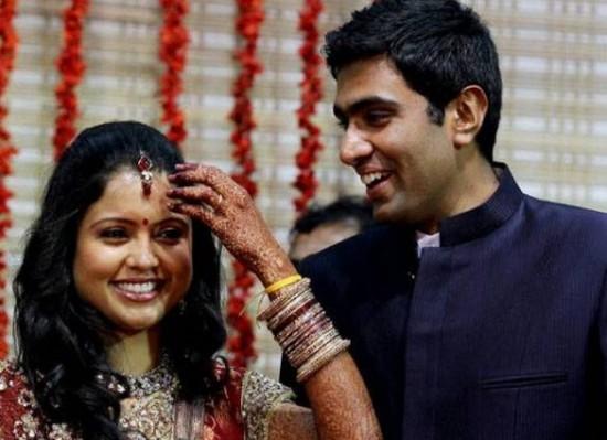 Preethi Narayanan And Ravichandran Ashwin Marriage Photos