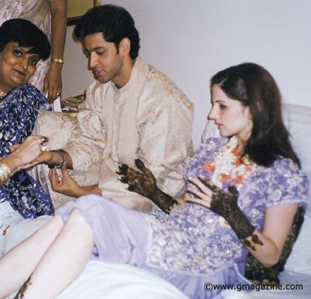 Hrithik Roshan And Suzanne Khan Wedding Photos